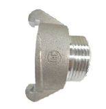 "External Lug Adapter 38mm to 19mm (3/4 "") MALE BSP thread"