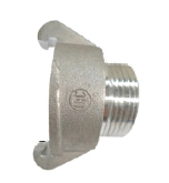 "External Lug Adapter 38mm to 25mm (1"") MALE BSP thread"