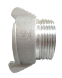 "External Lug Adapter 38mm to 38mm (1.5"") MALE BSP thread"